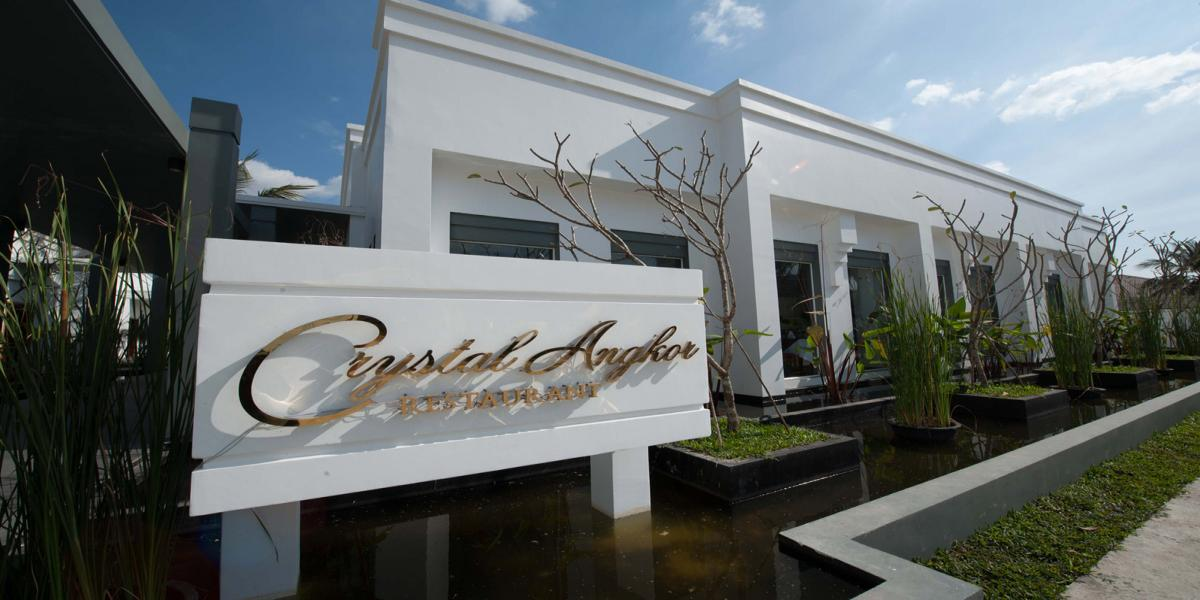 The Facade of Crystal Angkor Restaurant